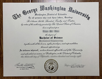 Where Do I Apply for The George Washington University BSc Degree?
