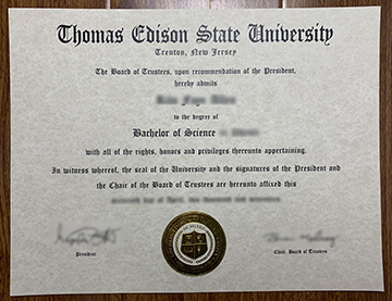 Thomas Edison State University Diploma for sale online