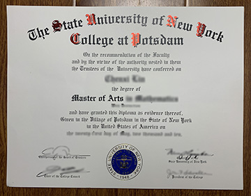Available Way to Get The SUNY College at Potsdam Diploma Online
