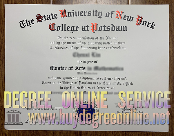 SUNY Potsdam degree