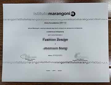 Secret Way To Get Istituto Marangoni Diploma Online.