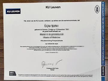 How Long It Takes To Get A Diploma From KU Leuven?