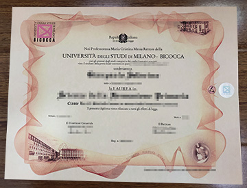 How to buy the fake University of Milano-Bicocca diploma online?