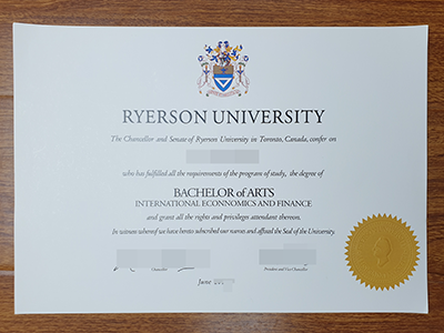 How to Get a fake Ryerson university degree online?