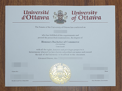 uOttawa Degree, Get a University of Ottawa Diploma