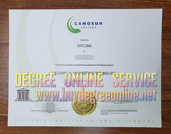 Camosun College degree