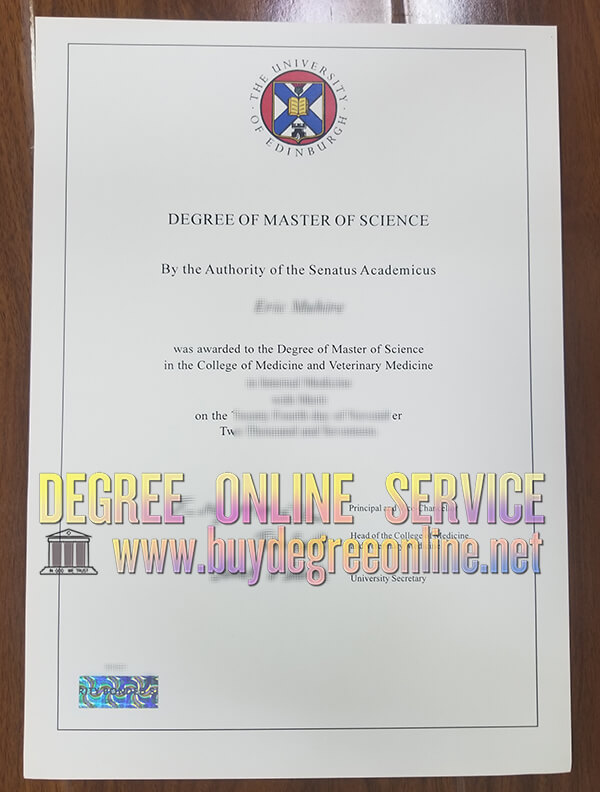 university of edinburgh degree