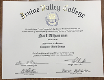 Who Can Make the Best Irvine Valley College Degree?