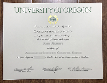 Where to get a fast degree of University of Oregon?