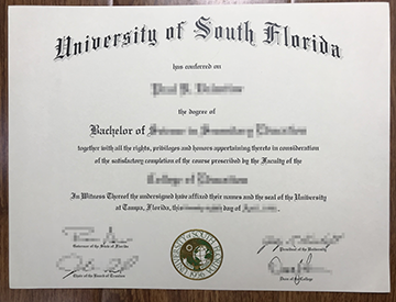 How Can I Get A Fake South Florida University Degree Online?