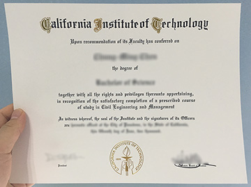 Where To Buy California Institute Of Technology Diploma?