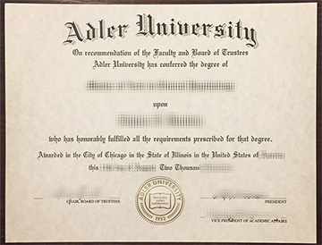 How To Effectively Obtain A  False Degree Certificate From Adler University?