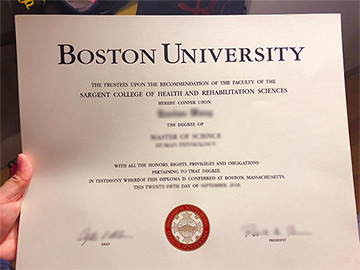 Want To Get Boston University With A Degree Diploma?