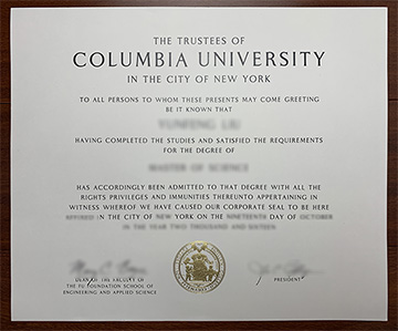 How To Make A Fake Columbia University Degree In New York?