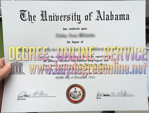 The University of Alabama degree