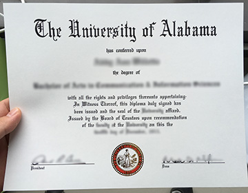 Where Can I Copy The Relevant Degree Certificate Of the University of Alabama?