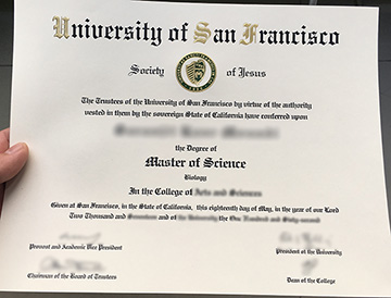 How to get a University of San Francisco Fake Diploma