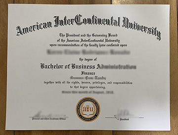America Intercontinental University Fake Degree How To Obtain Online?
