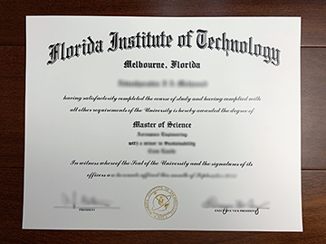The Florida Institute Of Technology Master's Diploma Can Be Customized Online?
