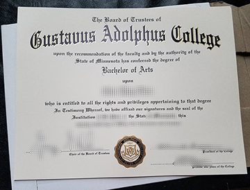 Quickly Learn About The Process Of Purchasing A Gustavus Adolphus College Diploma?