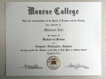 The Truth About Buy Monroe College Degree In 3 Minutes