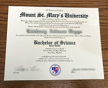By Buying Mount St. Mary's University Fake Degrees Improve Yourself