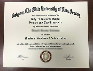 Rutgers The State University of New Jersey Fake Diploma How To Online Get?