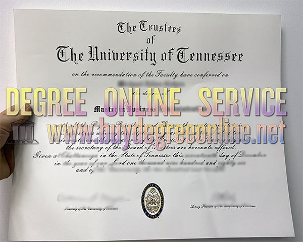 The University of Tennessee Degree