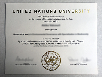 The United Nations University Fake Degree Where To Buy In Tokyo?
