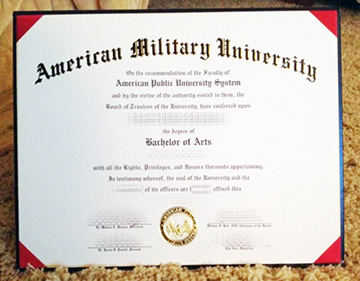 The Quickest & Easiest Way To Buy American military university (AMU) Degree?