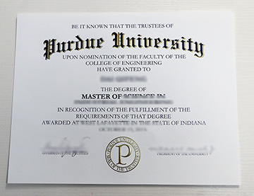 The Purdue University fake degree Certificate You Can't Miss