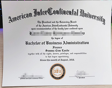 How much to get a fake American Intercontinental University (AIU) diploma