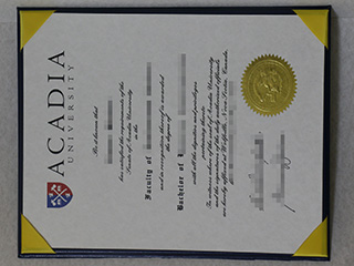 Is it safe to order a fake Acadia University diploma online?