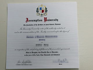 How to obtain a fake Assumption University degree online?