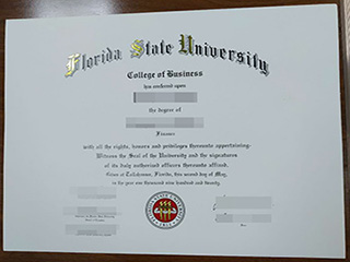 Florida State University fake degree you want to get