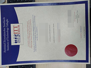 Where to buy the fake Institute of Technology Tallaght certificate, ITT