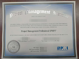 PMP certificate, buy Project Management Professional certificate online