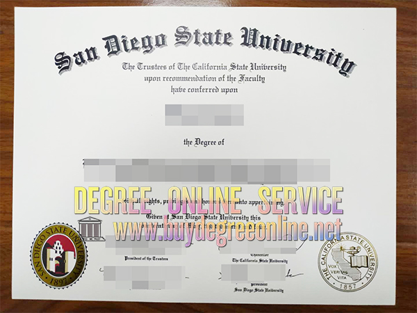 San Diego State University degree