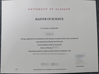 How to buy a fake University of Glasgow diploma online
