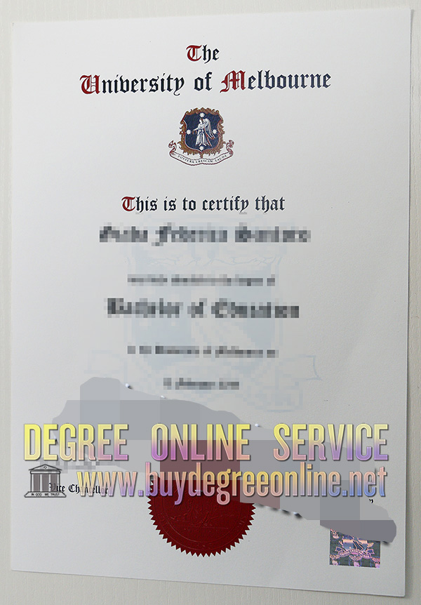University of Melbourne Diploma