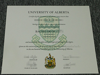 How to quickly get the fake University of Alberta diploma online