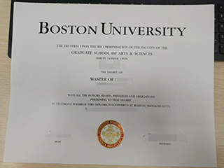 Which website can you buy a fake high-quality Boston University diploma
