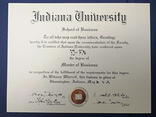 The way to quickly get a fake Indiana University diploma online