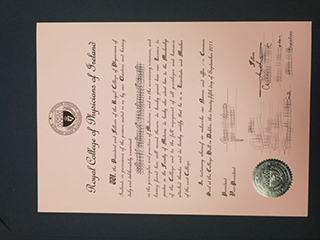 Buy a fake Royal College of Physicians of Ireland degree, get RCPI diploma