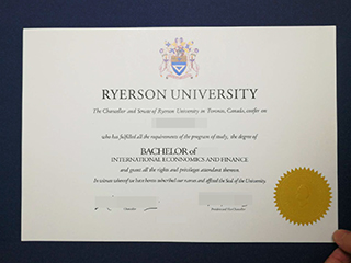 What if you want to buy a fake Ryerson University diploma online