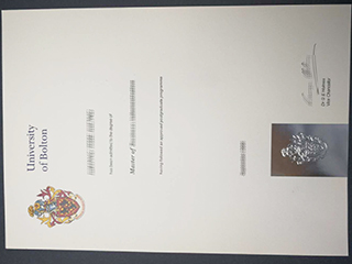 Purchase a fake University of Bolton degree online