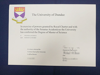 Is buying a fake University of Dundee degree useful for finding a work?