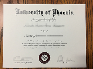 How to order your diploma from University of Phoenix