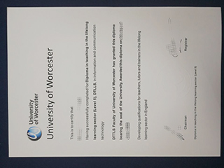 The best site to buy a fake University of Worcester diploma certificate