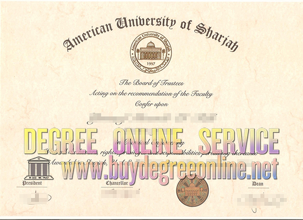 American university of Sharjah degree